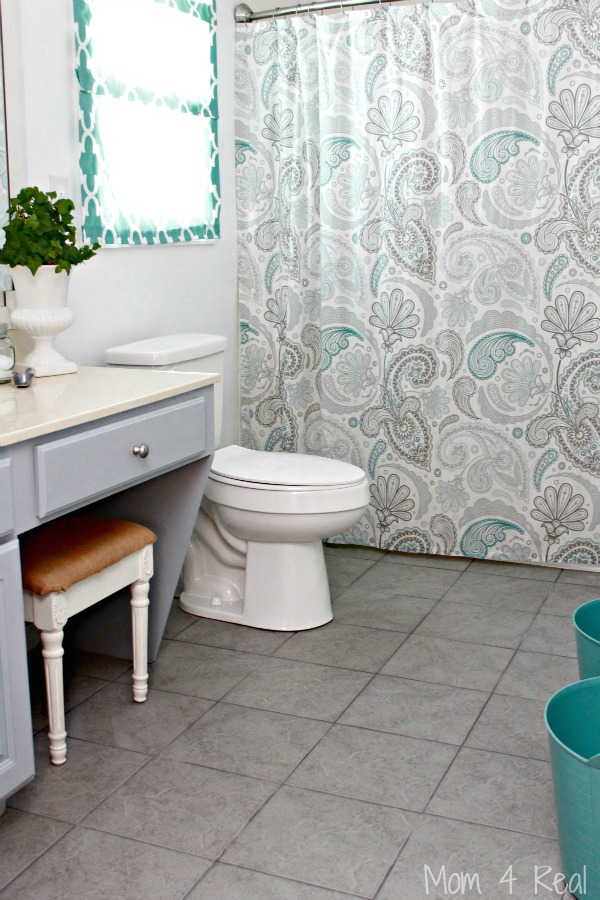 Grey-White-Aqua-Bathroom