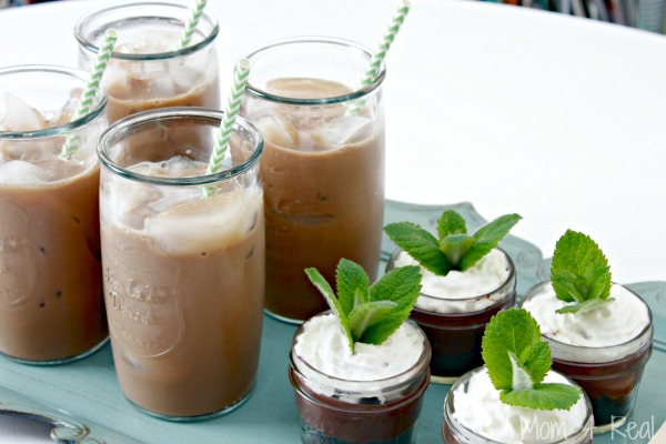 Chocolate Pudding Pies In Mason Jars