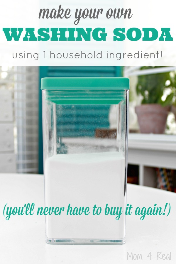 Make Your Own Washing Soda With One Household Ingredient