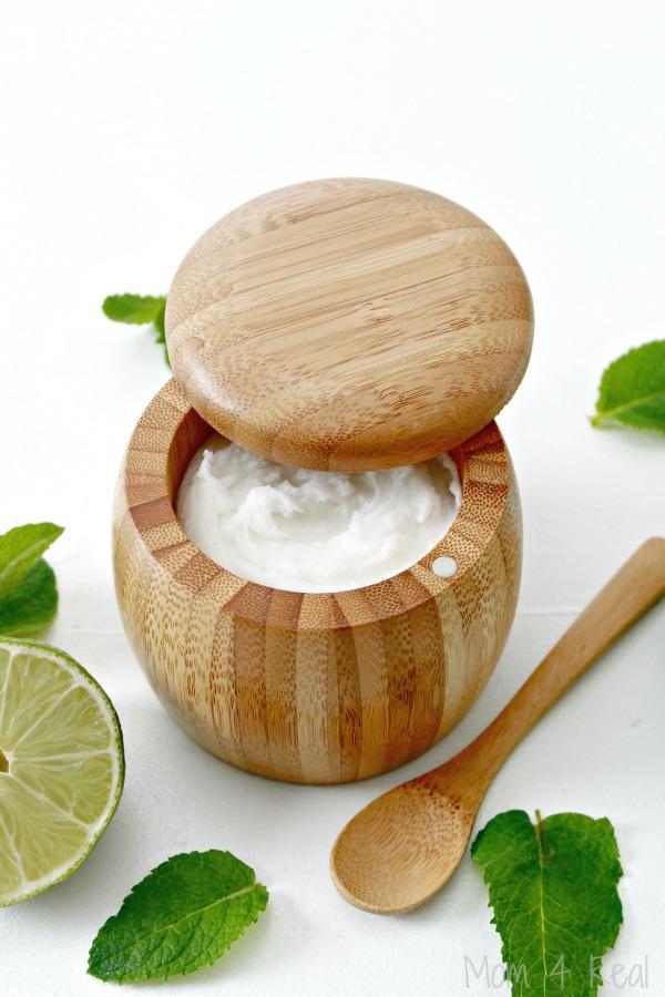 DIY Mint Mojito Exfoliating Face Scrub
