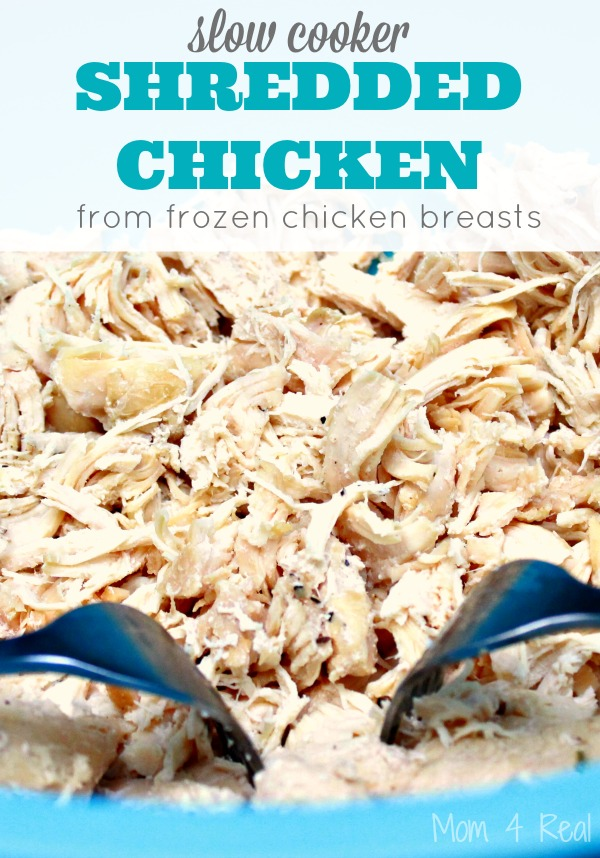 The BEST Slow Cooker Shredded Mexican Chicken Recipe. Make a batch and ...