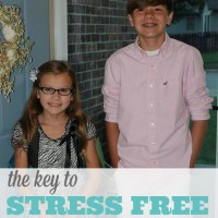 The Key To A Stress Free Morning - TODAY Parenting Team Contribution