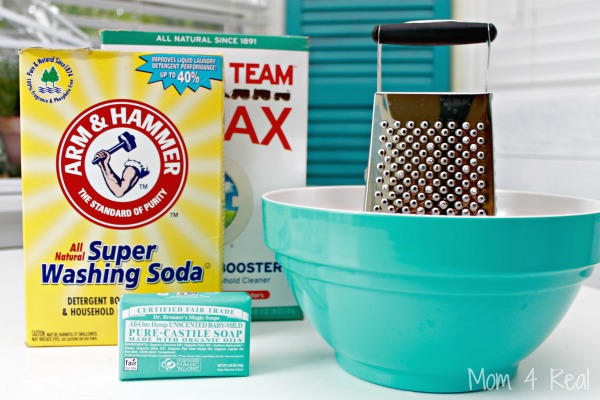 Homemade Baby Safe Laundry Detergent For Sensitive Skin