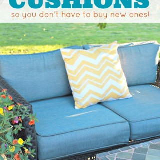 How To Clean Outdoor Cushions Easy and Save Money