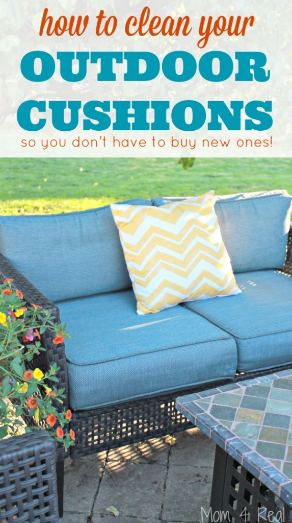 How To Clean Outdoor Cushions And Save Your Money Mom 4 Real