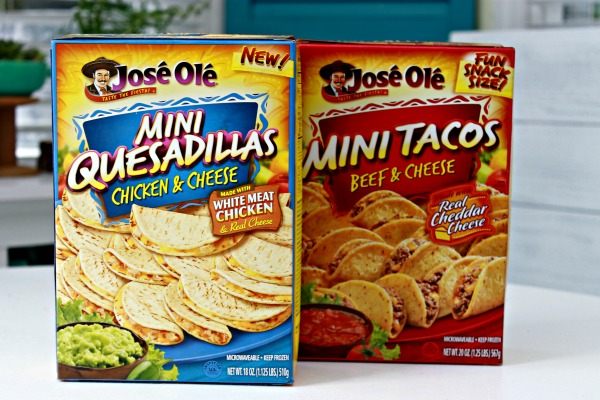 Mini Tacos and Quesadillas - Perfect For Cinco de Mayo