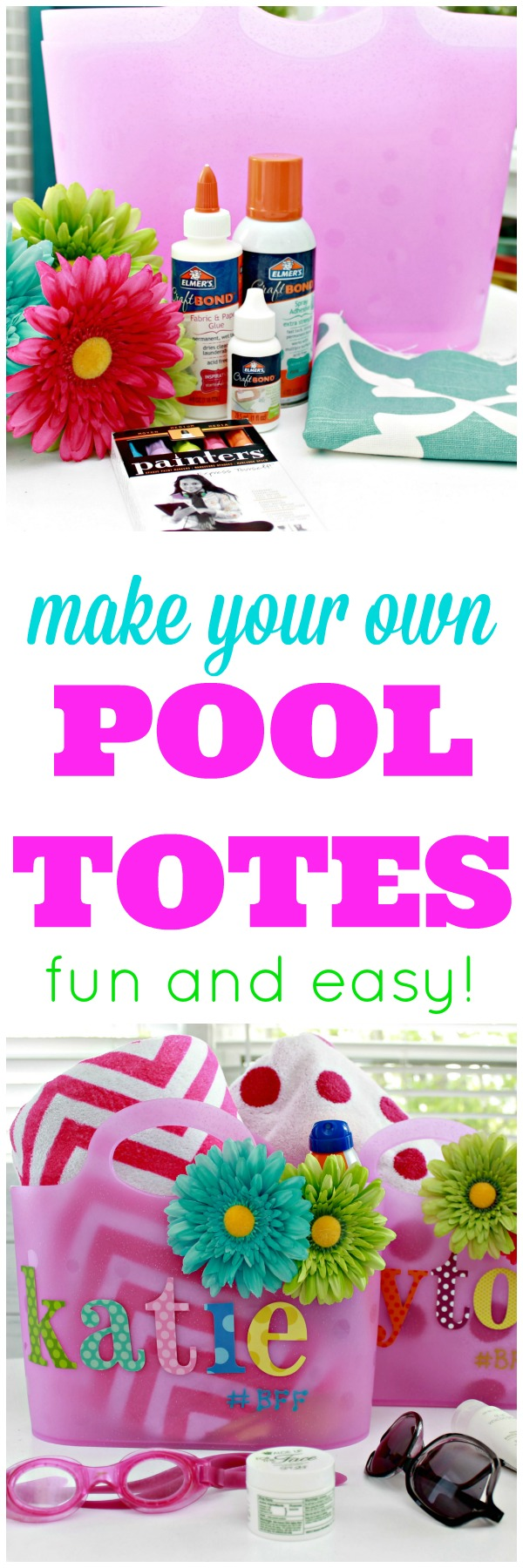 Diy pool tote skip to my lou bloglovin for Create your own pool