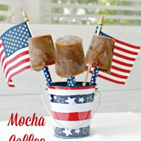 Mocha Coffee Popsicles – A Great 4th of July Treat For Adults