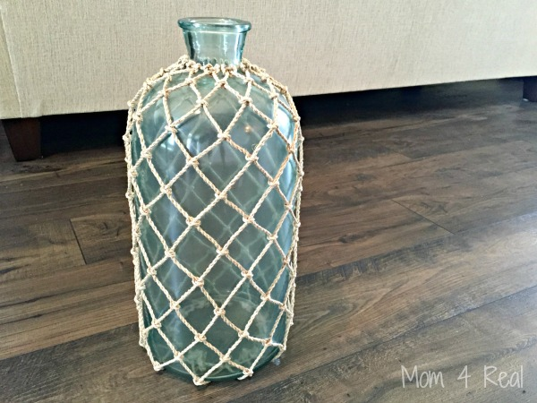 Thrifted Vase Turned Nautical Lamp