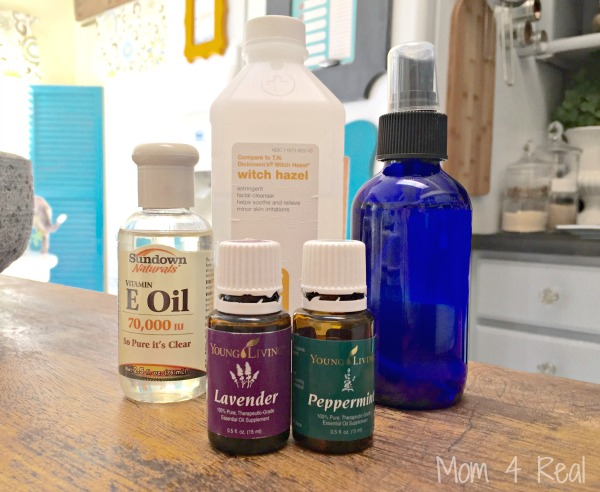 Make Your Own Sunburn Relief Spray - Chemical Free Using Essential Oils