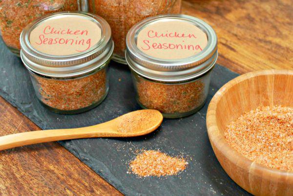 Homemade Dry Spice Rub For Chicken or Pork
