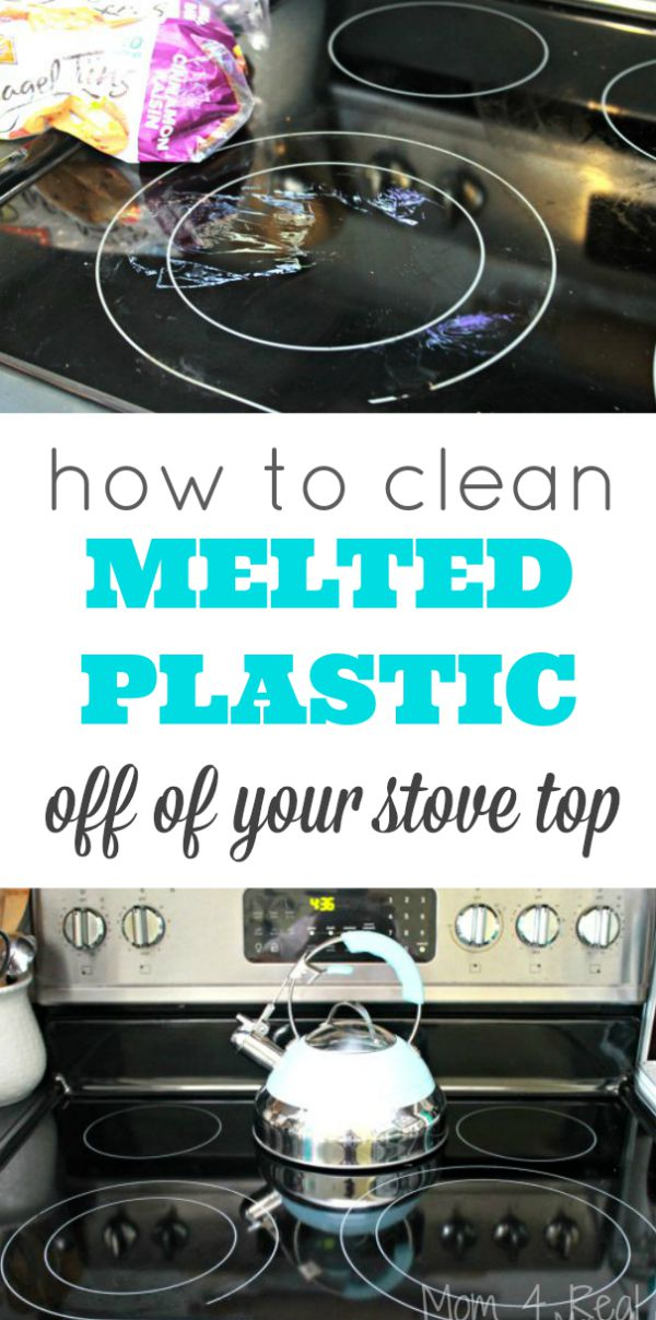 How To Clean Melted Plastic Off Of Your Stovetop