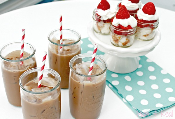 Iced-Coffee-and-Strawberry-Shortcake