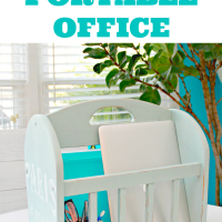 Old-Magazine-Rack-Turned-Portable-Office