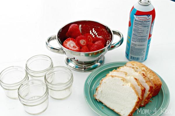 Mini Mason Jar Strawberry Shortcake Desserts Mom 4 Real