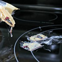 How To Clean Melted Plastic Off Of Your Stove Top