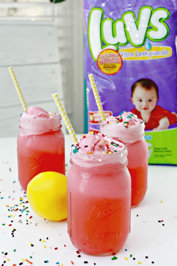 Baby Shower Drinks Non Alcoholic ~ Non alcoholic lemon berry sprinkle mocktail recipe mom
