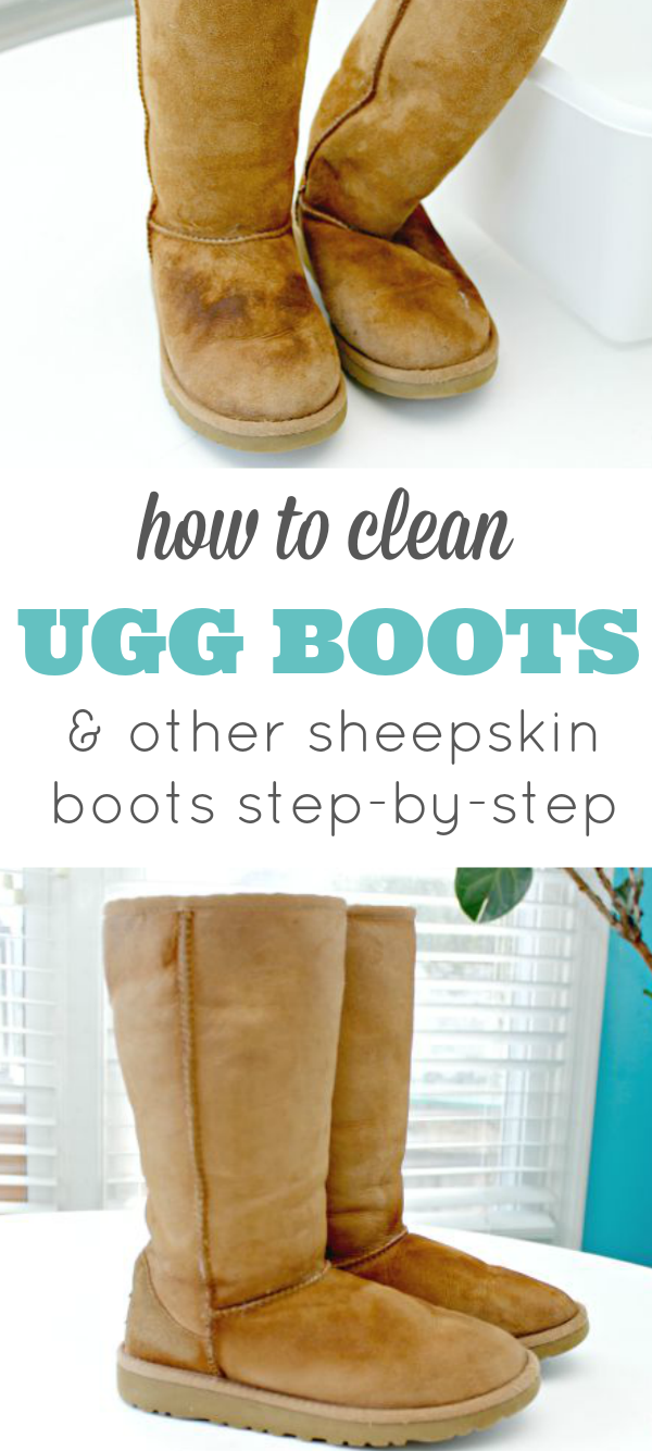 How To Clean Ugg Boots or Any Sheepskin Boots