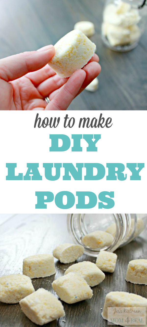 How to Make Your Own Laundry Pods