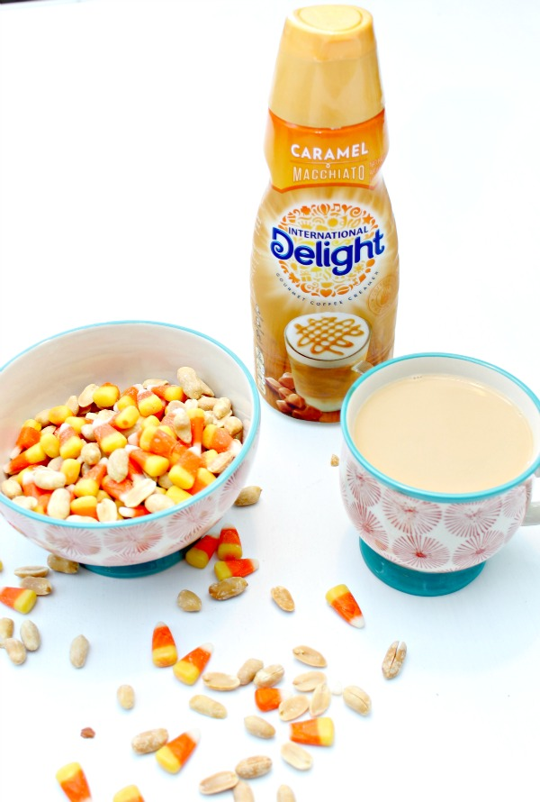 Candy Corn Snack Mix - Tastes Like A Payday Candy Bar - Sweet and Salty