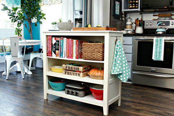 sideboard turned kitchen island wayfair hack mom 4 real - Wayfair Kitchen Island