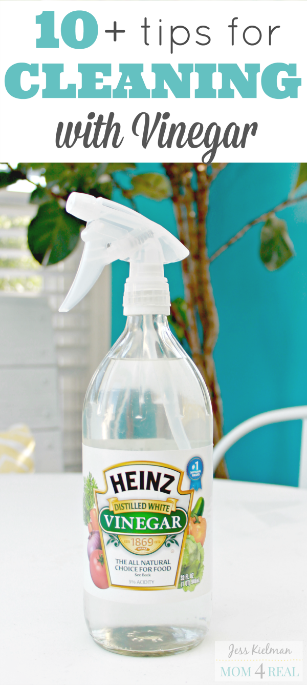 10+ Tips For Cleaning With Vinegar