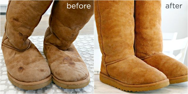How To Clean Ugg Boots Or Any Sheepskin Video Included Mom 4 Real