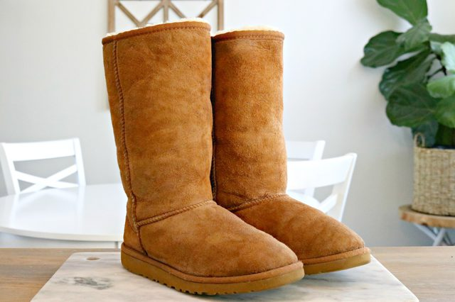 ff0b7ce35b How To Clean Ugg Boots or Any Sheepskin Boots - Video Included - Mom ...