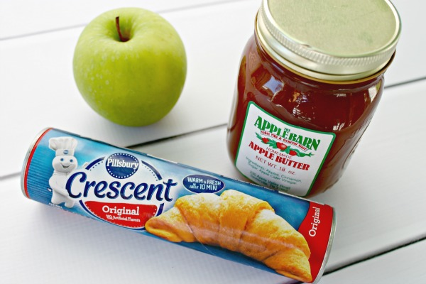 Glazed Apple Pie Roll Ups