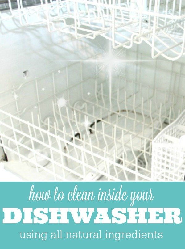 Get A Clean Dishwasher Using Two Ingredients