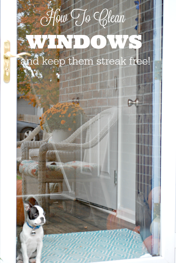 How To Clean Windows and Keep Them Streak Free