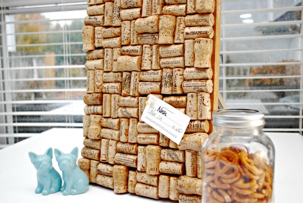 Wine Cork Board – Thrifted Project