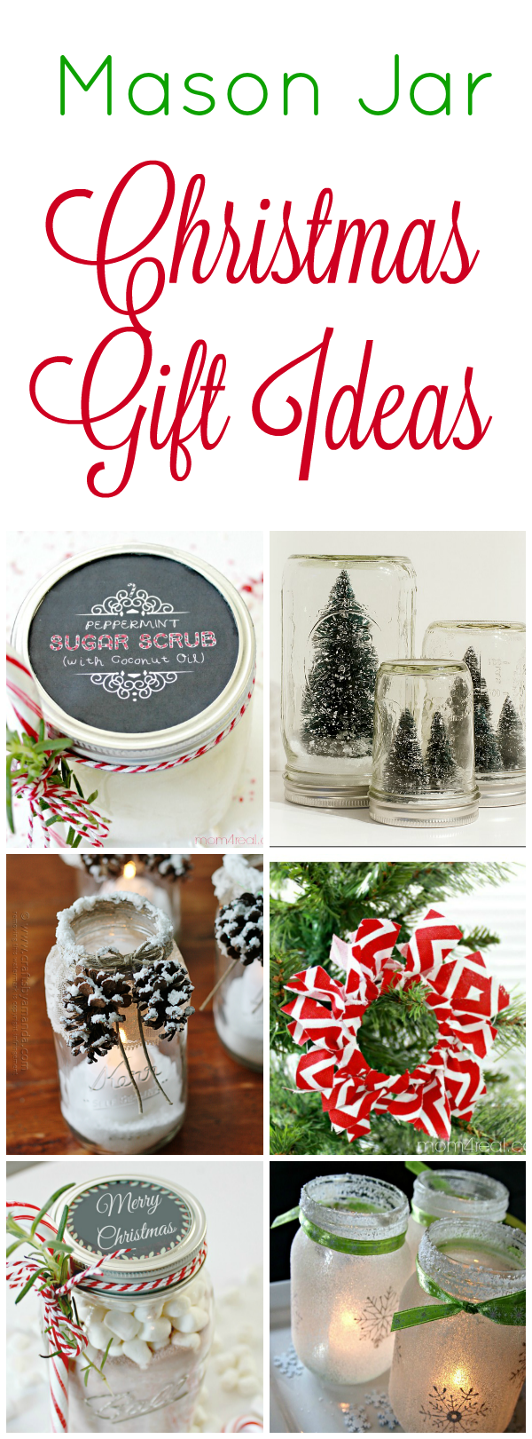 14 Mason Jar Christmas Gift Ideas - Mom 4 Real