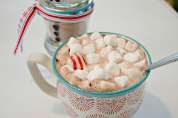 snowman peppermint white hot chocolate peppermint white chocolate hot ...