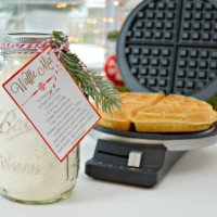 Homemade Waffle and Pancake Mix and Free Printables