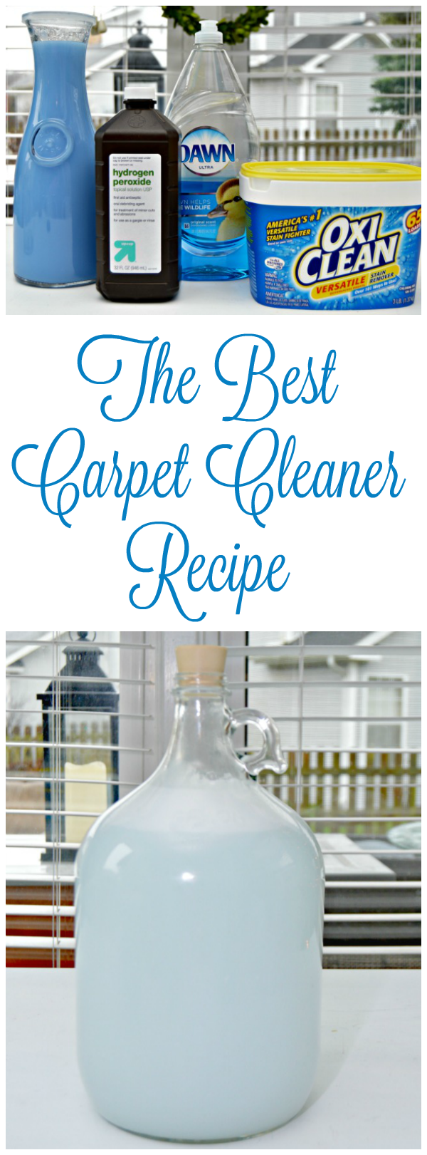 The Best Carpet Cleaner Recipe Mom 4 Real