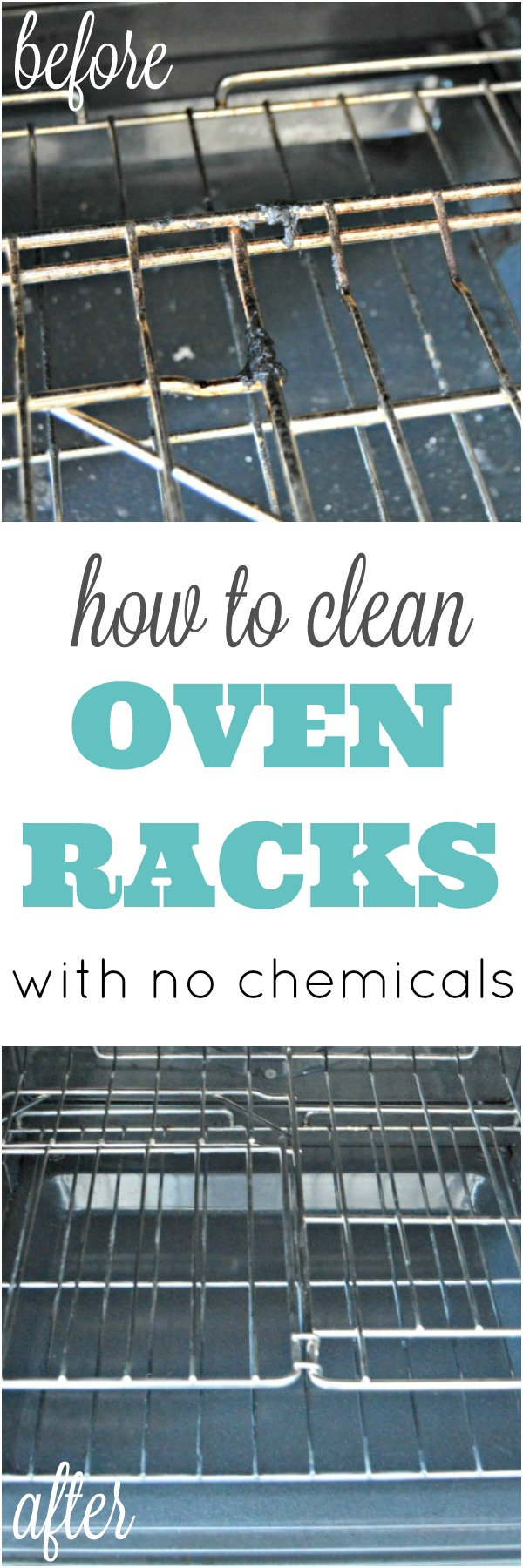 How To Clean Oven Racks Without Harmful Chemicals Mom 4 Real