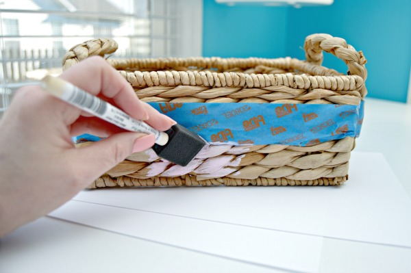 Painting-Color-Dipped-Basket