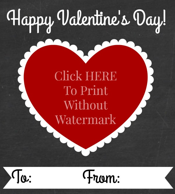 Free Chalkboard Valentine's Day Gift Tags at mom4real.com