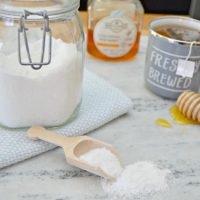 DIY Congestion Relief Bath Salts