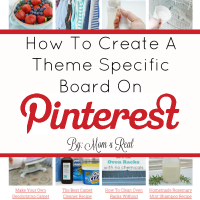 How To Create A Pinterest Board That Is Theme Specific and Organize Your Pins