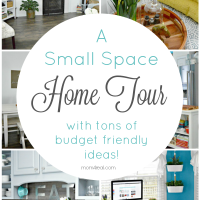 My Small Home Tour and 12 More Small House Tours