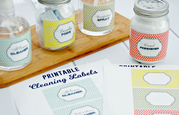 Cleaning-Labels-Printable