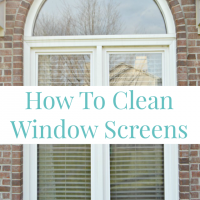 3 Tips For Window Cleaning Including How To Clean Window Screens