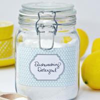 DIY Powdered Dishwashing Detergent Recipe
