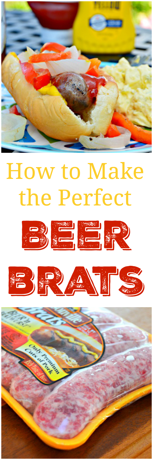 How To Make The Perfect Beer Brats