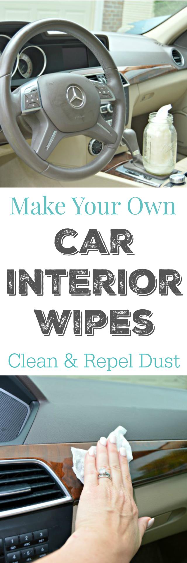 make your own car interior wipes mom 4 real. Black Bedroom Furniture Sets. Home Design Ideas