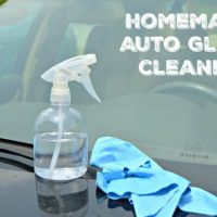 How To Make Auto Glass Cleaner