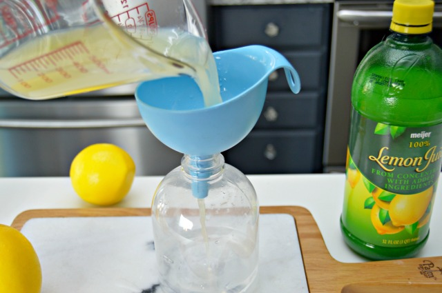 Homemade Microwave Cleaning Spray