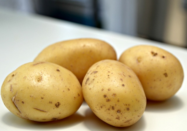 Keep potatoes fresh by storing them in a cool dark place.